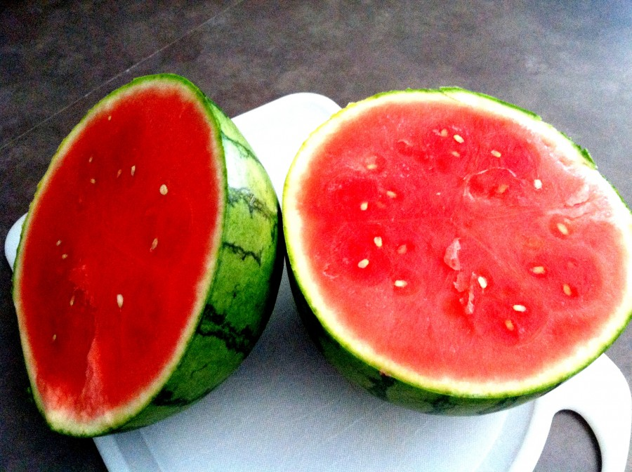 ripe seedless watermelon