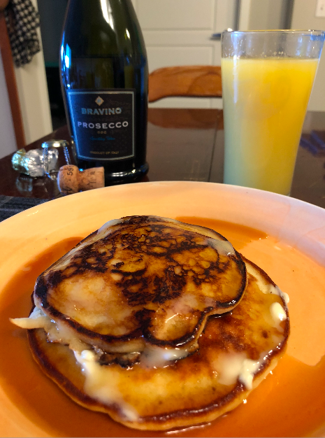 New Year's Day pancakes